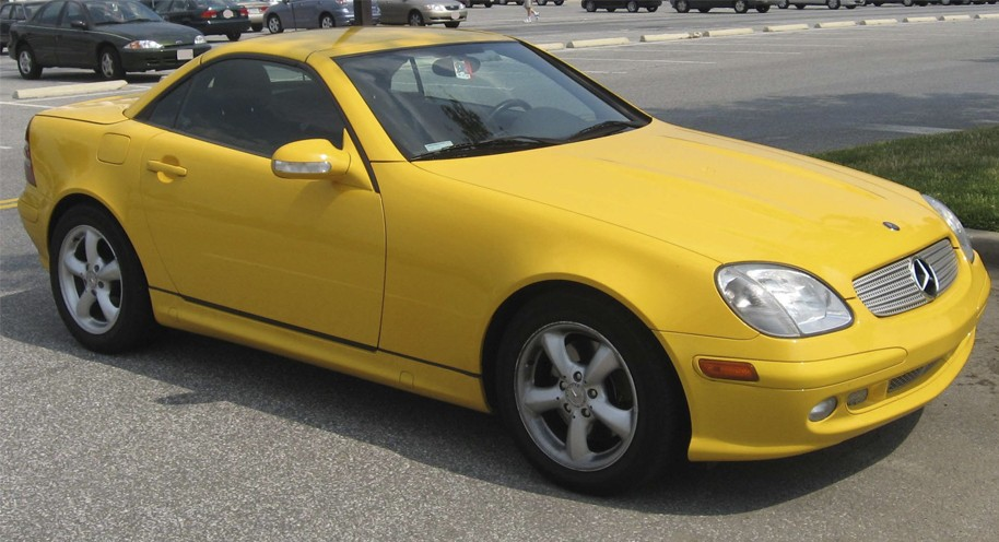 Mercedes Benz SLK-Class R170 Series (1996-2004)