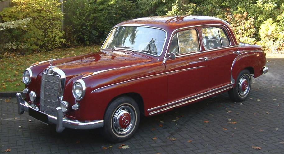 Mercedes Benz-S Class W180 Series (1954-1959)