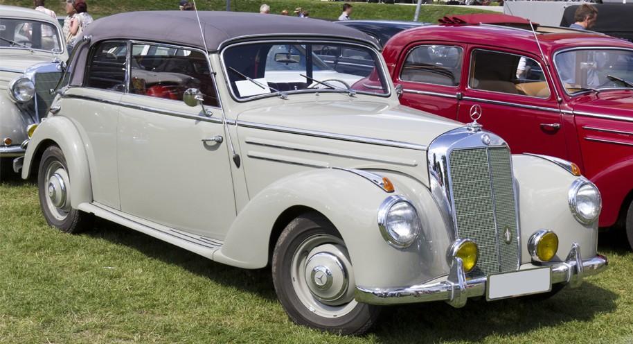 Mercedes Benz S-Class W187 Series (1951-1955)