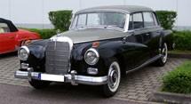 Mercedes Benz S-Class W189 Series (1957-1962)