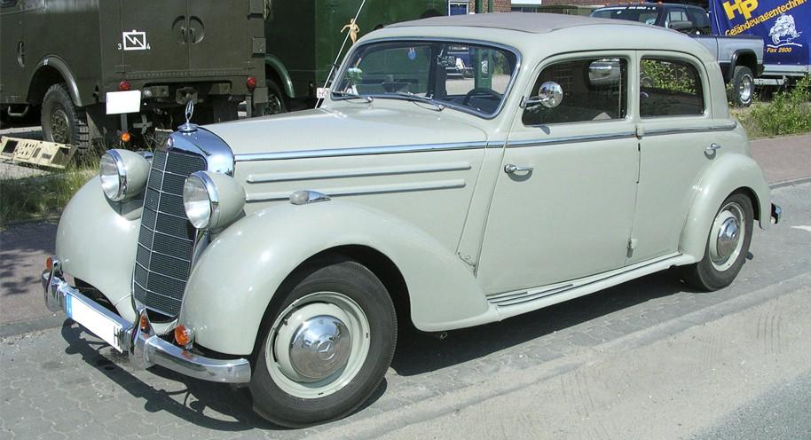 Mercedes Benz E-Class W191 Series (1952-1953)