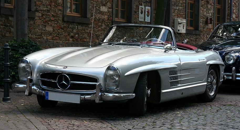 Mercedes Benz SL-Class W198 Series (1954-1957)