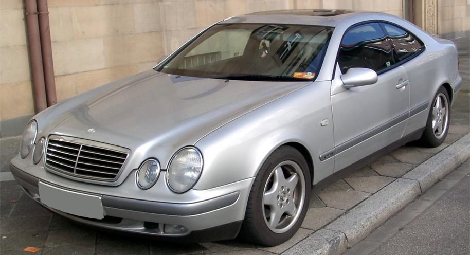 Mercedes Benz CLK-Class W208 Series (1996-2003)