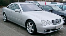 Mercedes Benz CL-Class W215 Series (1998-2006)