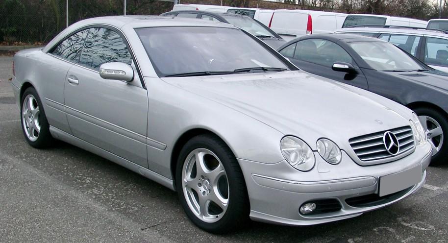 Mercedes Benz CL-Class W215 Series (1998-2006)