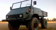 Mercedes Benz UNIMOG U-411 Series  (1956-1974)