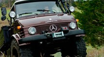 Mercedes Benz UNIMOG U-416 Series (1972-1983)