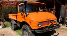 Mercedes Benz UNIMOG U-421 Series (1966-1989)